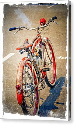Motor Bike Canvas Print