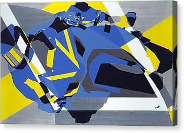 Motorbike 1 Canvas Print