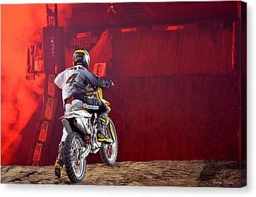 Arcylic Canvas Print - Motorcross 8 by Paulina Roybal