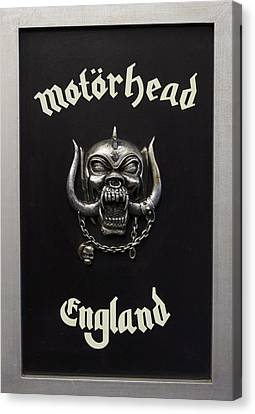 Motorhead England Canvas Print by The Artist Project