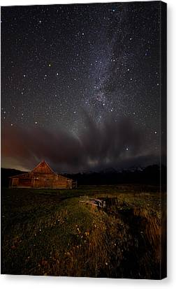 Colorado Captures Canvas Print - Moulton Barn Milk by Mike Berenson