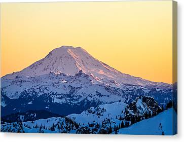 Mount Adams Sunset Canvas Print