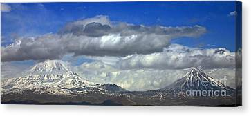Mount Ararat Canvas Print by Babak Tafreshi