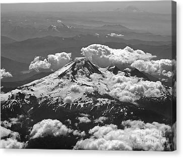 Canvas Print featuring the photograph Mount Baker by Inge Riis McDonald
