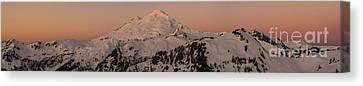 North Cascades Canvas Print - Mount Baker Majestic by Mike Reid