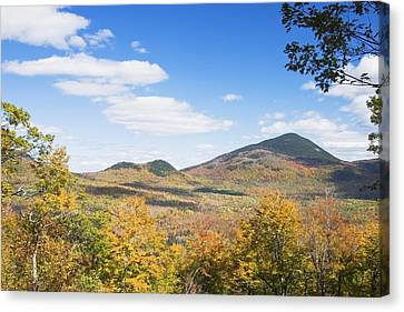 Maine Mountains Canvas Print - Mount Blue State Park In Fall Weld Maine by Keith Webber Jr