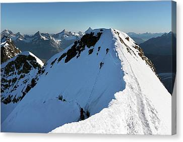 Mount Castor Canvas Print by Martin Rietze