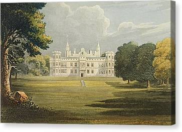 Mount Edgecumbe, From Ackermanns Canvas Print by John Gendall