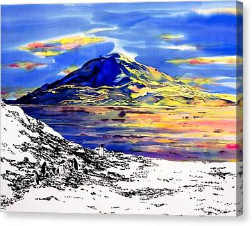 Mount Erebus Antarctica Canvas Print by Carolyn Doe