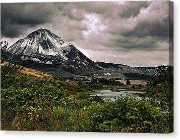 Mount Errigal Canvas Print by Jane McIlroy