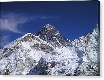 Mount Everest Canvas Print by Jan Wolf