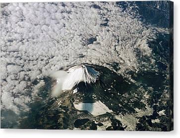 Mount Fuji Canvas Print by Nasa