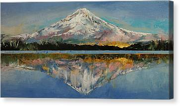 Michael Canvas Print - Mount Hood by Michael Creese