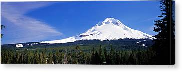 Mount Hood Or Usa Canvas Print by Panoramic Images