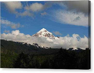 Canvas Print featuring the photograph Mount Hood Oregon by Robert  Moss