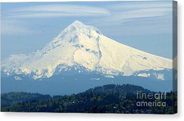 Mount Hood  Canvas Print by Susan Garren