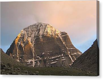 Parvati Canvas Print - Mount Kailash by Rajesh  Gupta