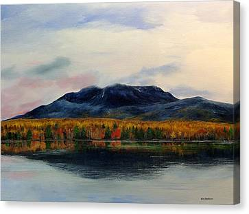 Mount Katahdin Canvas Print