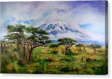 Mount Kilimanjaro Tanzania Canvas Print