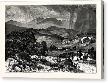 Thomas Moran Canvas Print - Mount Mansfield, From Rices Hill by English School