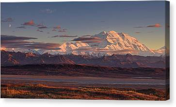 Denali Canvas Print - Mount Mckinley - Denali National Park by Roberto Marchegiani
