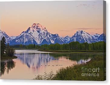 Mount Moran Sunrise Canvas Print