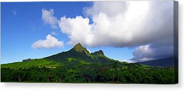 Mount Olomana Hawaii Canvas Print by Kevin Smith