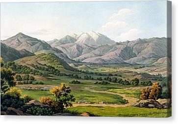 Olympus Canvas Print - Mount Olympus by Edward Dodwell