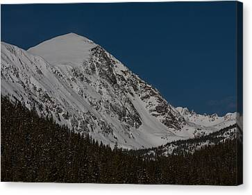 Quandary Peak Canvas Print by Peter Skiba