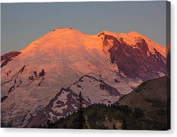 Mount Rainier Sunrise Canvas Print by Bob Noble Photography