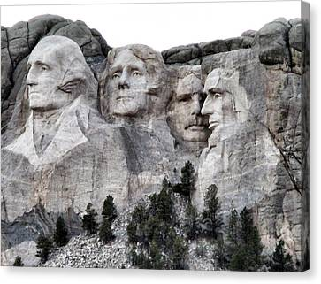 Mount Rushmore National Memorial Canvas Print by Patricia Januszkiewicz