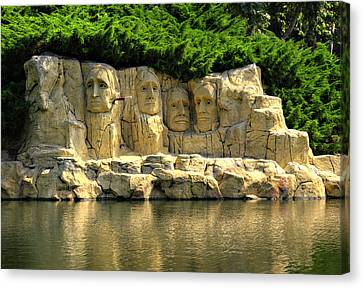 Mount Rushmore Canvas Print by Ricky Barnard