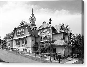 Mount Saint Mary College Whittaker Hall Canvas Print by University Icons