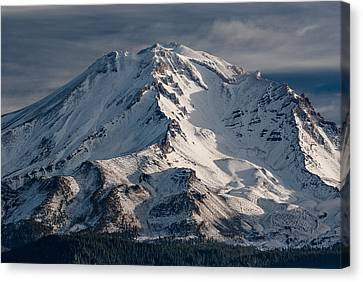 Mount Shasta Close-up Canvas Print by Greg Nyquist