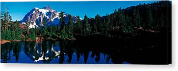 Mount Shuksan North Cascades National Canvas Print by Panoramic Images