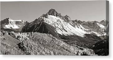 Mount Sneffels In Colorado Canvas Print by Brett Pfister