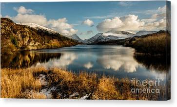 Mount Snowdon Canvas Print by Adrian Evans