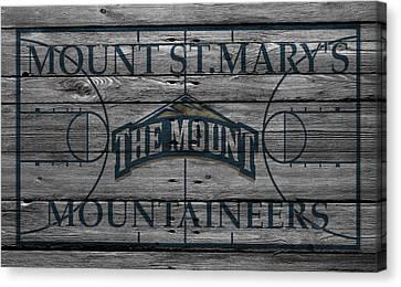 Mount St Marys Mountaineers Canvas Print by Joe Hamilton