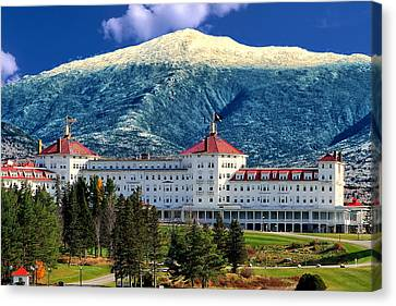Mount Washington Hotel Canvas Print by Tom Prendergast