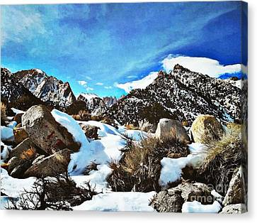 Mount Whitney Vista Canvas Print by Glenn McCarthy Art and Photography