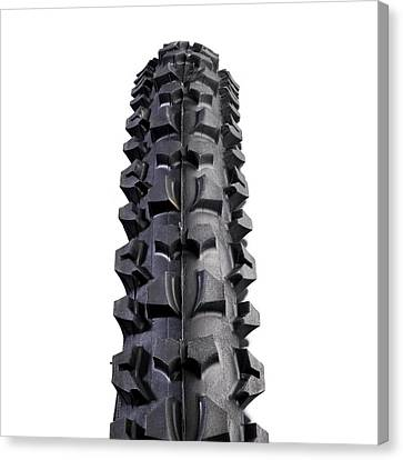 Component Canvas Print - Mountain Bike Tyre by Science Photo Library