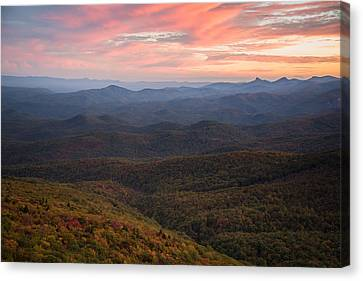 Canvas Print featuring the photograph Mountain Color by Serge Skiba
