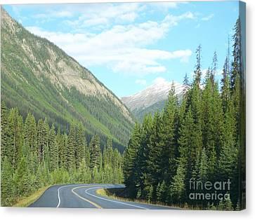 Mountain Cruise Canvas Print