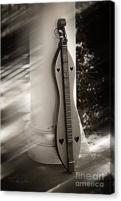 Mountain Dulcimer Canvas Print