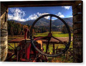 Mountain Farm View Canvas Print by Greg and Chrystal Mimbs