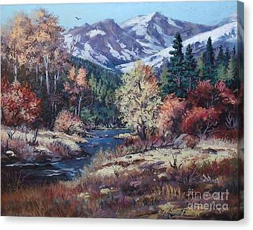 Mountain Glory Canvas Print by W  Scott Fenton