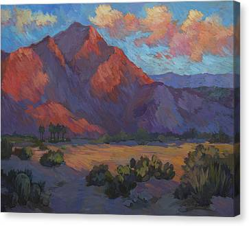 Mountain Majesty Canvas Print by Diane McClary