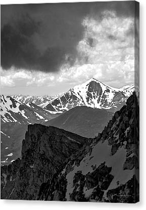 Mountain Majesty Canvas Print by Julie Magers Soulen