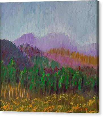 Mountain Meadow Canvas Print
