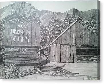 Mountain Memories Canvas Print by Tony Clark